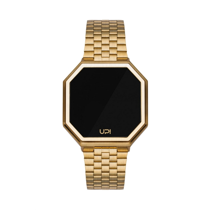 Upwatch Edge Matte Gold Unisex Kol Saati