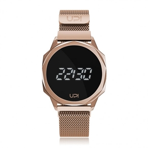 Upwatch İsim Yazılabilir Icon Rose Gold Loop Band Unisex Kol Saati